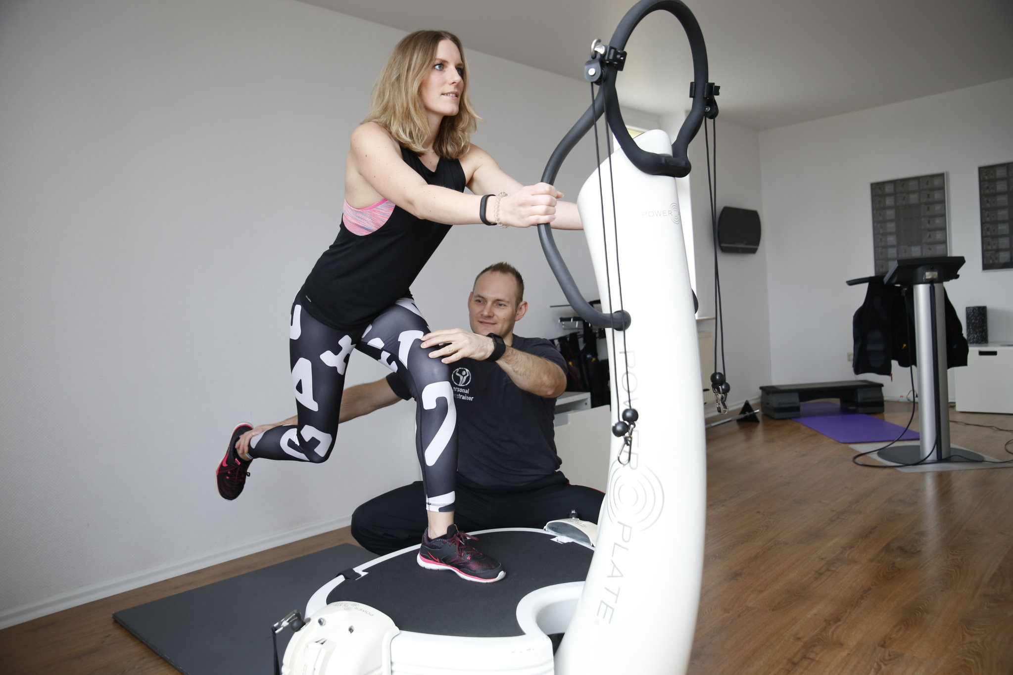 Fit im Süden Power Plate Training